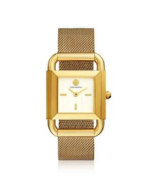 TBW7250 The Phipps Gold Tone Mesh Women's Watch
