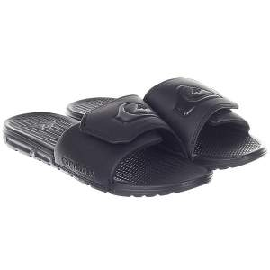 Шлепанцы Quiksilver Shoreline Adjus Solid Black