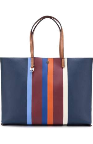 Сумка-шоппер Kerrington Stripe Tory Burch